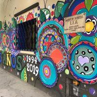 """El """"LEA"""" cumple 25 años y lo celebran con un mural"""