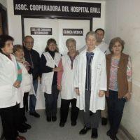 Gracias a la Cooperadora, el Erill cuenta con un nuevo espacio de enfermería