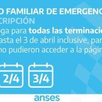 ANSES: Preinscripciòn al Ingreso Familiar De Emergencia, nuevas fechas
