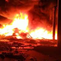 Los Bomberos de Escobar, entre incendios y locro patrio