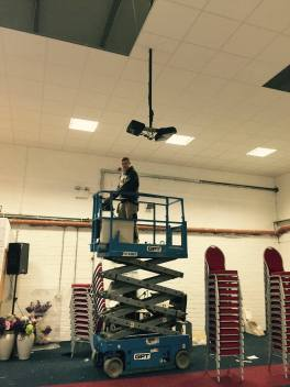 Community Hall Lighting Nugent Electrians