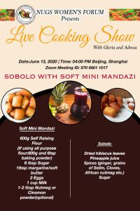 Live-cooking-show-with Gloria and Adwoa