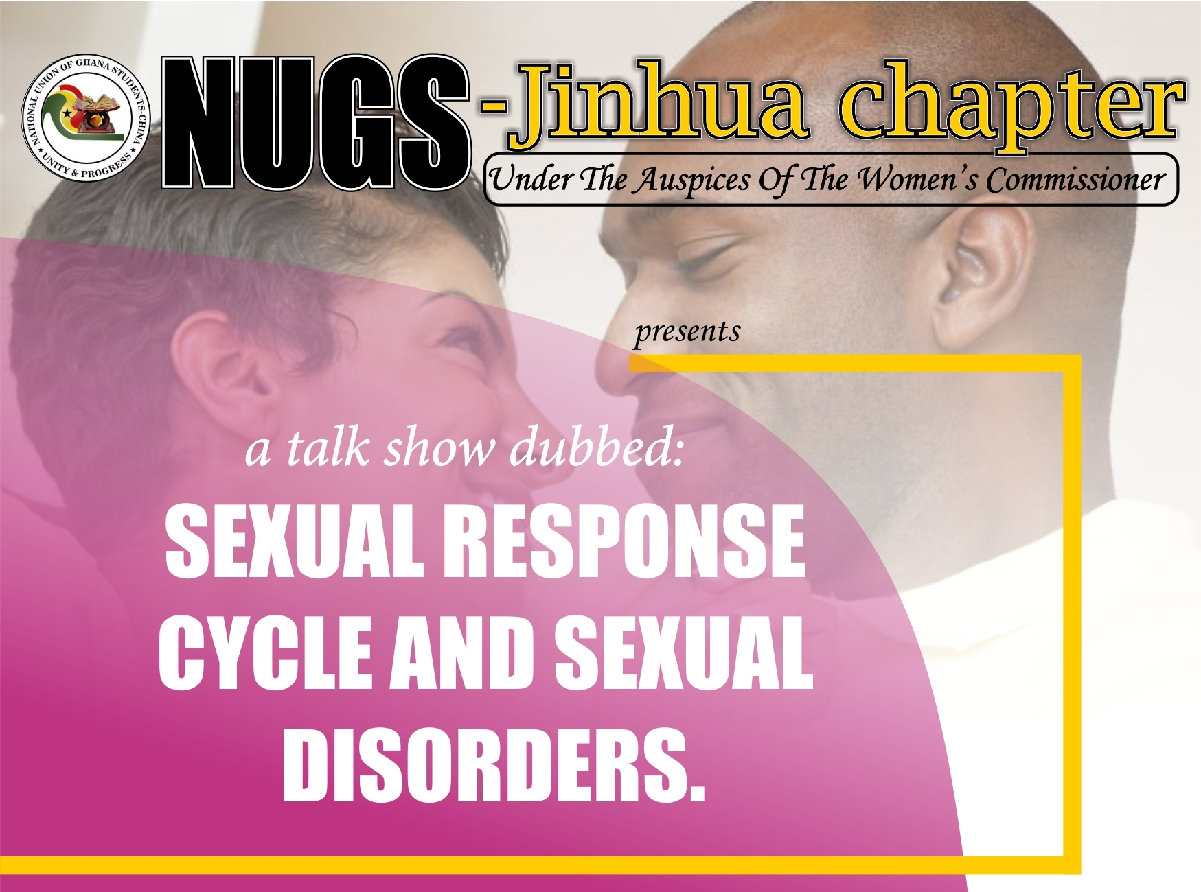 NUGS-Jinhua: Sexual Response Cycle and Sexual Disorders