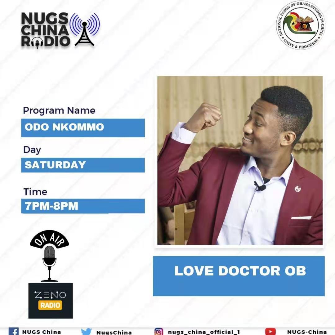 NUGS-China Radio: Odo Nkomo with Love Doctor OB