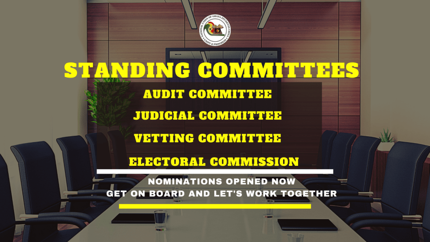 OPENING OF NOMINATIONS FOR NATIONAL COMMITTEES
