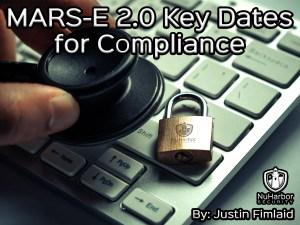 MARS-E 2.0 Security Compliance