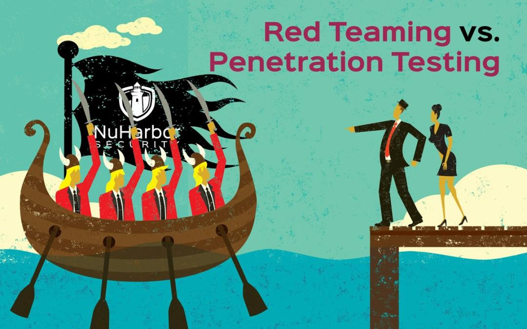 Red Teaming vs. Penetration Testing