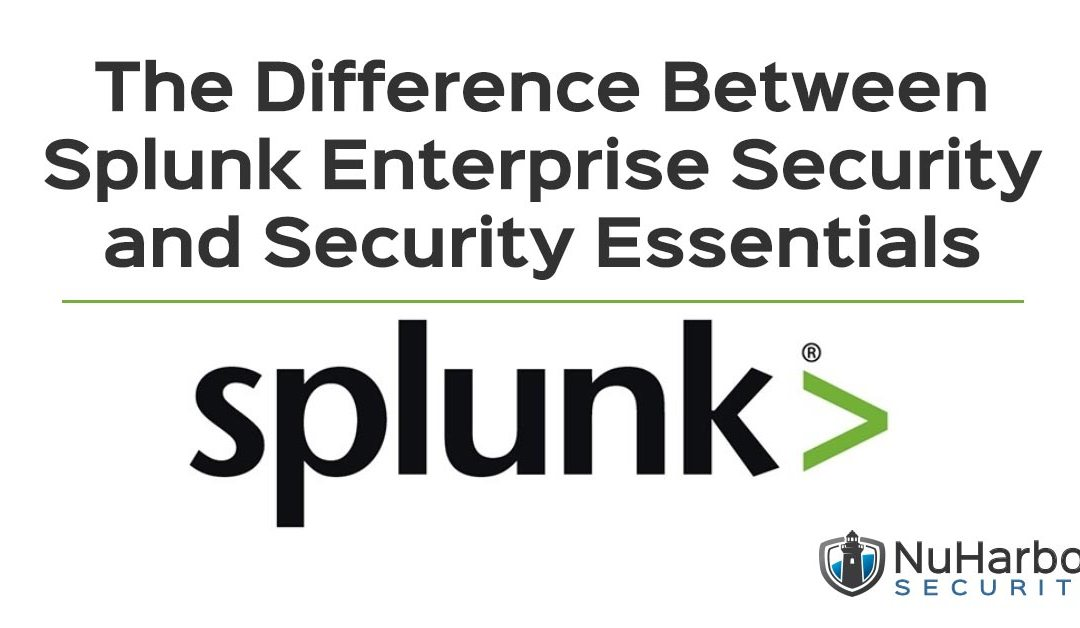 What's the Difference Between Splunk Enterprise Security and Security Essentials?