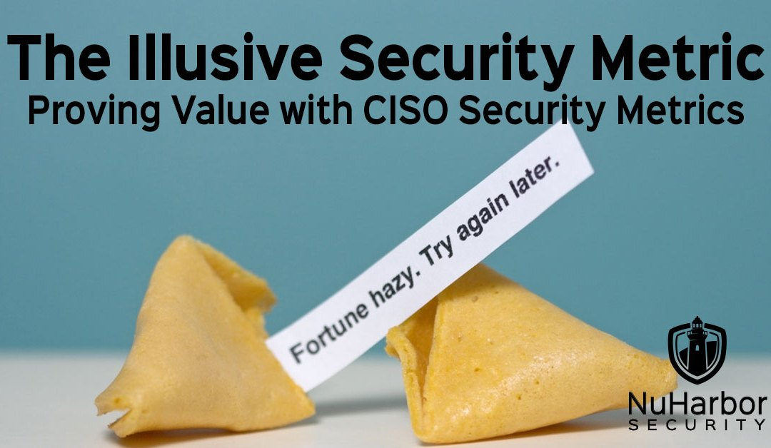 CISO Security Metrics: Proving Business Value