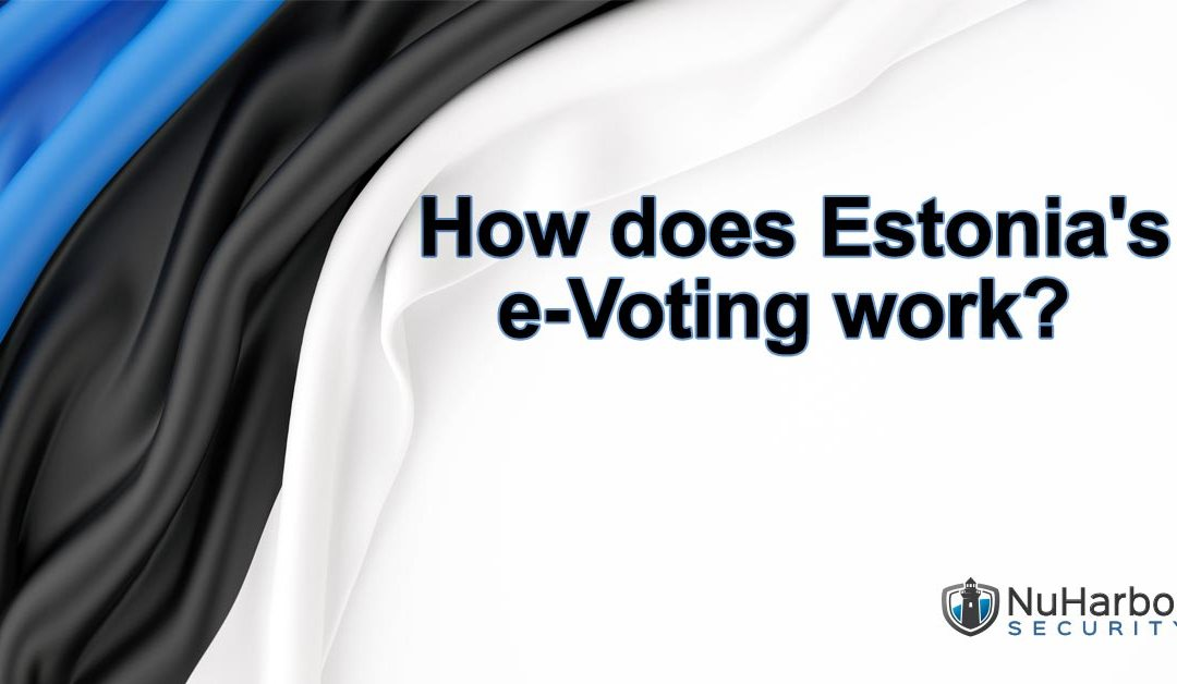 How does Estonia's e-Voting work?