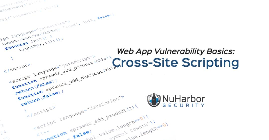Web App Vulnerability Cross-Site Scripting