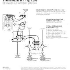 7 Wire Thermostat Wiring Diagram Labelled Of A Tilapia Fish Home By Nuheat Floor Heating Tstat Relaywiringdiagram 120v Relay 240v