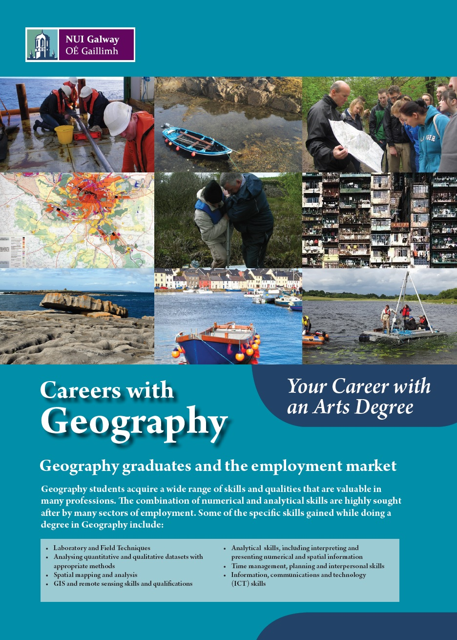 Careers in Geography  NUI Galway