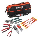 34 PIECE ELECTRICIANS TOOL KIT