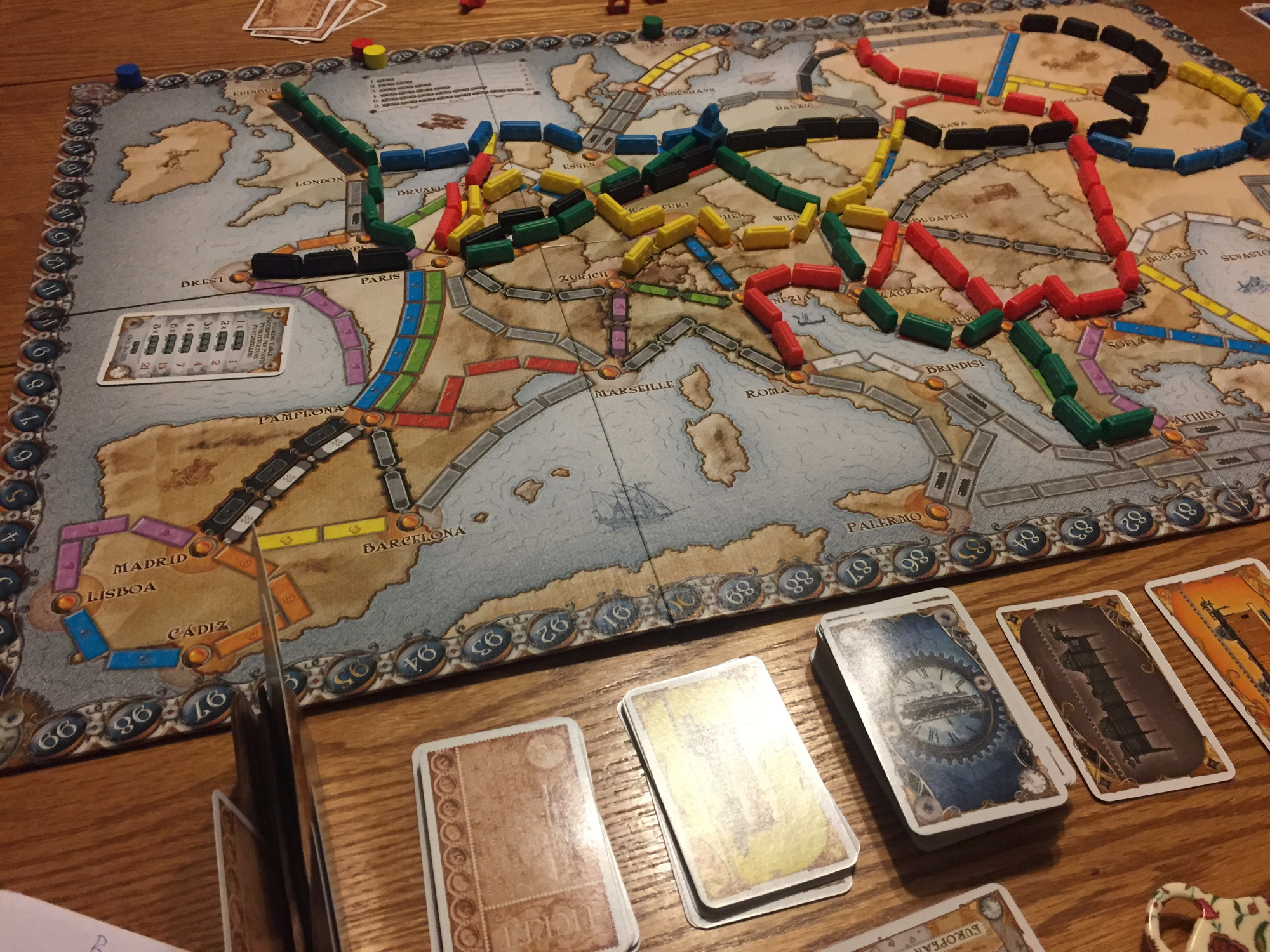 Ticket To Ride Europe Nuketown