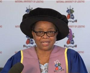 Assoc. Prof. Dintle Mogobe