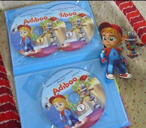 DVD Adiboo, Belajar Tentang Tubuh Manusia