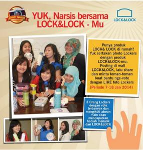 narsis with lock n lock