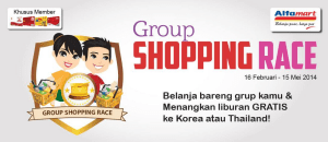 Shopping race alfamart