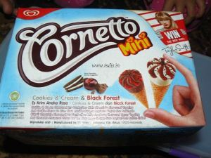Komposisi Cornetto mini