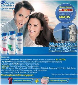 Head & Shoulders promo alfamart