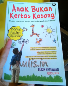 Buku Anak Bukan Kertas Kosong