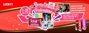 Your Lucky Valentine : Kontes Selfie, Wefie & Kreasi