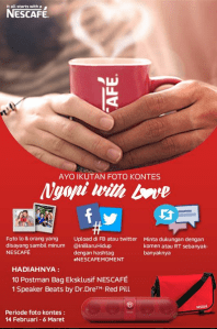 Foto Kontes : Ngopi With Love (Nescafe)
