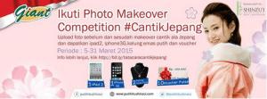 Shinzui Makeover Competition Berhadiah Gadget & Kalung Emas