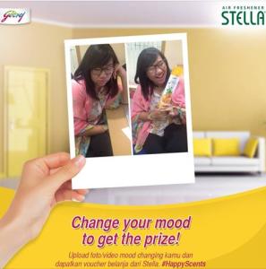 "Stella ""Mood Changing"" Contest Berhadiah Voucher Belanja"