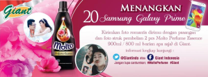 Foto Kontes Molto Parfume - Giant, Berhadiah 20 Samsung Galaxy Prime