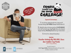 Express Your Self With Cap Panda Challenge