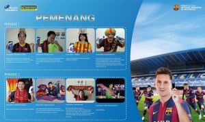 8 Pemenang Hypermart Barcelona (Head & Shoulders)