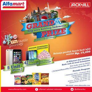 Belanja Produk Jack N Jill Berhadiah Gadget & Tur Keliling Indonesia