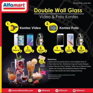 Kontes Foto & Video Double Wall Glass