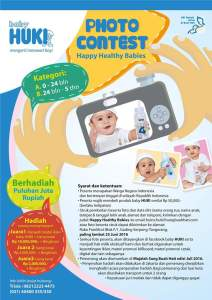 Kontes Foto Baby HUKI Berhadiah Puluhan Juta Rupiah