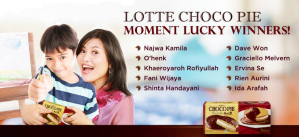 15 Pemenang Lotte Chocho Pie Moment