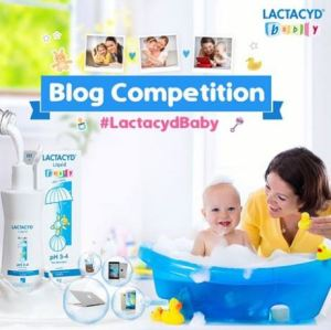 Lactacyd Baby Blog Competition Berhadiah Macbook Air