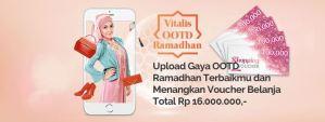 Foto Outfit Ramadhanmu Bersama Vitalis Berhadiah Voucher Belanja