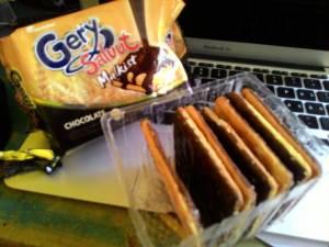 Gery Salut Malkist : Lezat Coklatnya Walau Ga Tebal