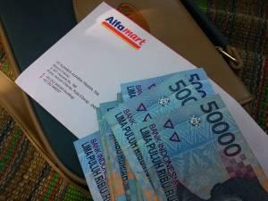 Cash 1 Juta : Hadiah THR Mudik Alfamart - Unilever