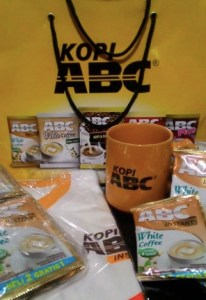 Merchandise Kopi ABC : Hadiah 200 PP Kontes Foto ABC Coffe Tone