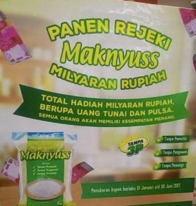 Panen Rezeki Beras Maknyus Berhadiah Total Milyaran Rupiah