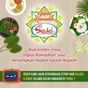 Kontes Dapur Ramadhan Sasa Berhadiah Jutaan Rupiah & Tampil Di TV