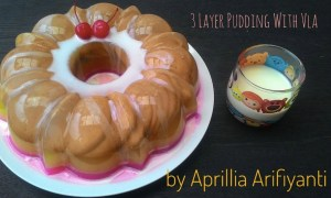 3 Layer Pudding Marie With Vla
