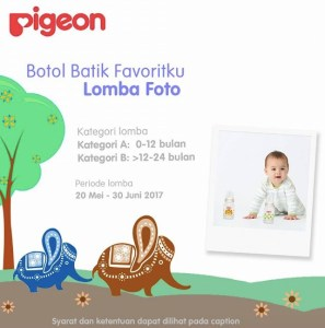 Pigeon Botol Batik Favoritku Berhadiah Hampers Produk @500K