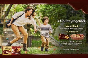 Holiday Together With Choco Pie Berhadiah Voucher Belanja