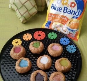 Peanut Cake Rainbow Lava