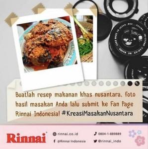 Kreasikan Masakan Nusantara  Dapatkan Hadiah Ekslusive
