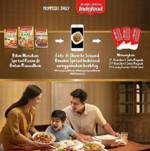 Hidangan Spesial Bunda Indofood Berhadiah Voucher Belanja Jutaan Rupiah